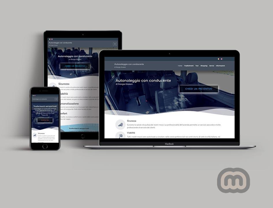 creazione siti web, sviluppo siti web, realizzazione siti web Autonoleggiogiorgio.it