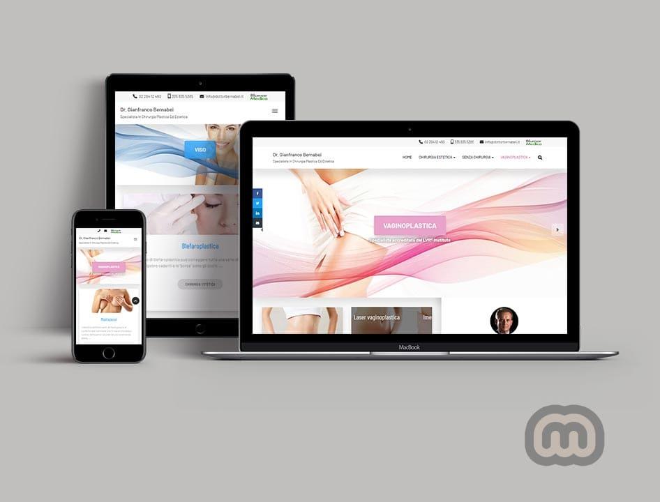 creazione siti web, sviluppo siti web, realizzazione siti web Dottorbernabei.it