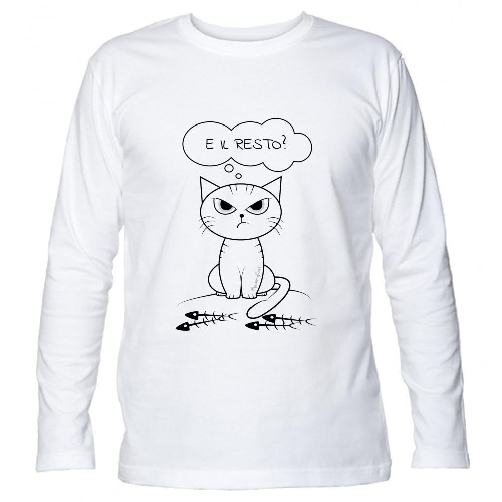 mammyCat, T-Shirt Manica Lunga