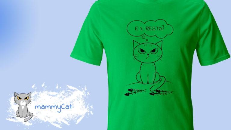 mammyCat, shop magliette, felpe, tazze, borse